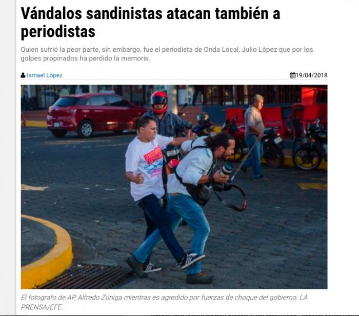 Ruutukaappaus Nicaraguasta