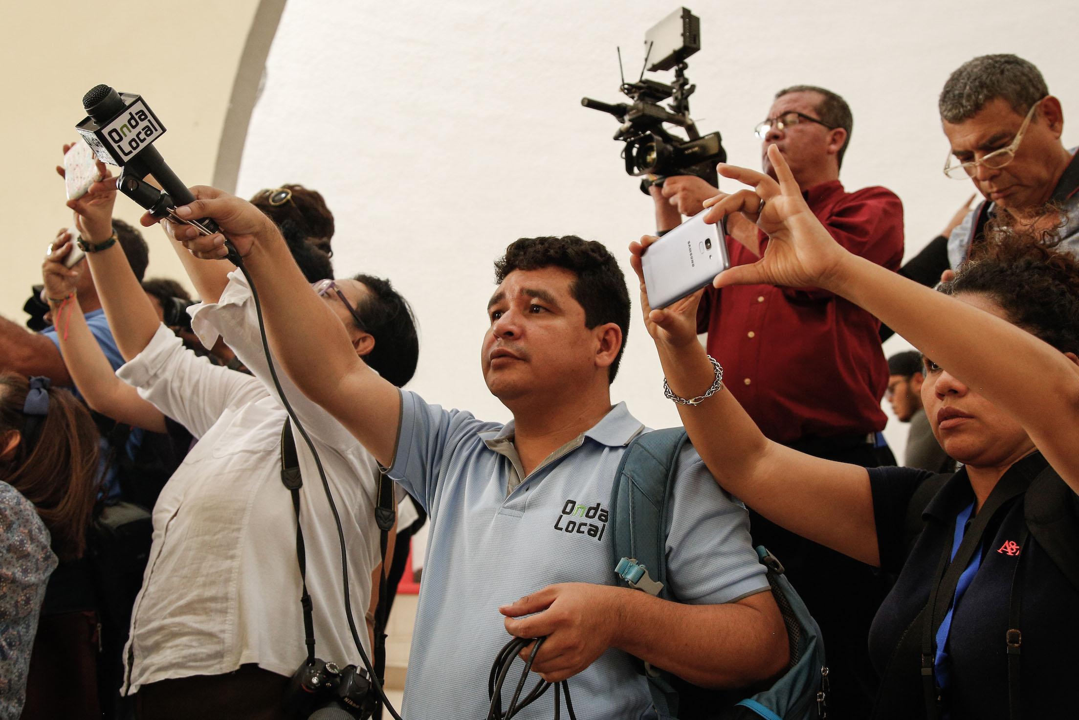 Julio Lopez, Onda Localin toimittaja