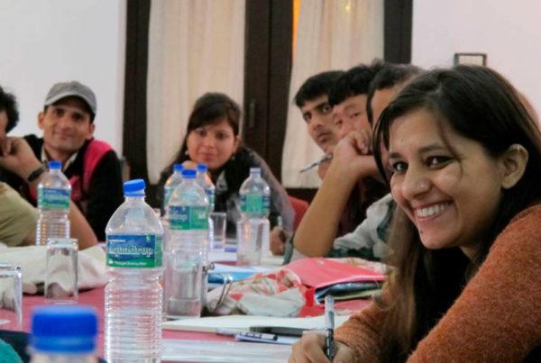 Naistoimittajia Nepalissa