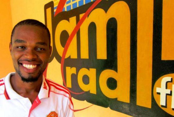 Jamii FM -radion mainoskuva