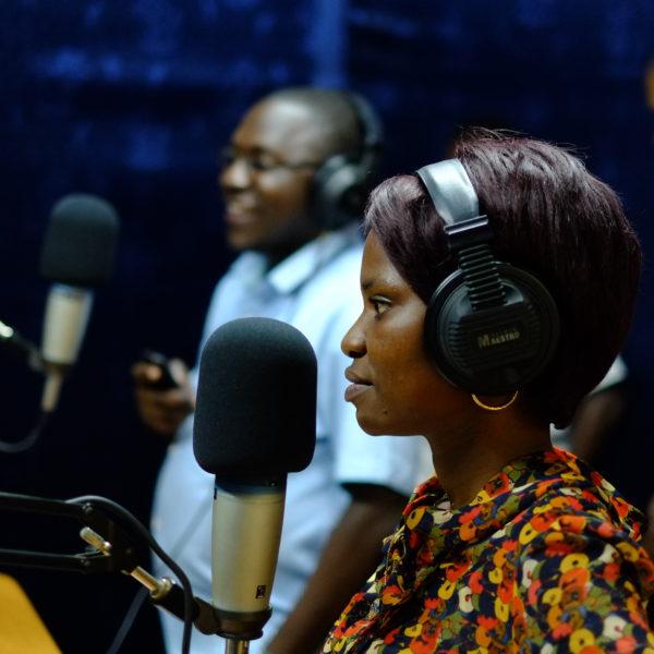 Radiostudio Tansaniassa