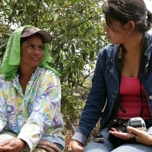 Haastattelutilanne Nicaraguassa