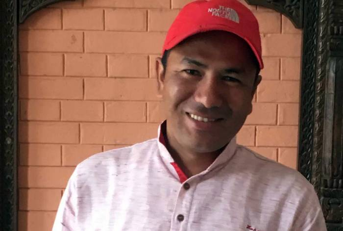 Nepalilainen toimittaja Basant Pratap Singh
