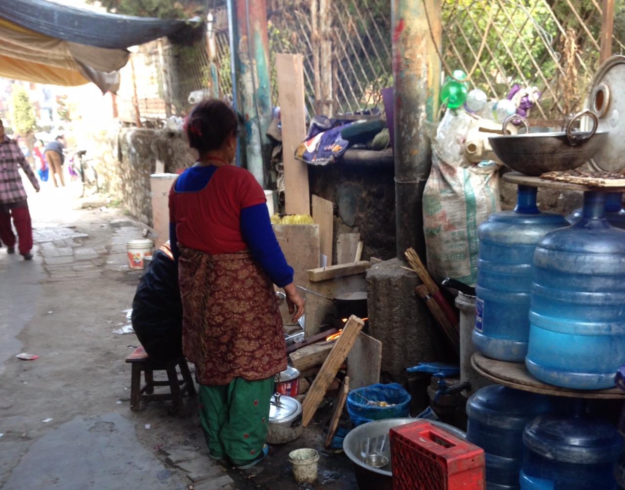 Nepalilainen katukeittiö