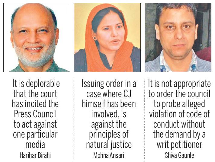 Ruutukaappaus Nepalista, toimittajia