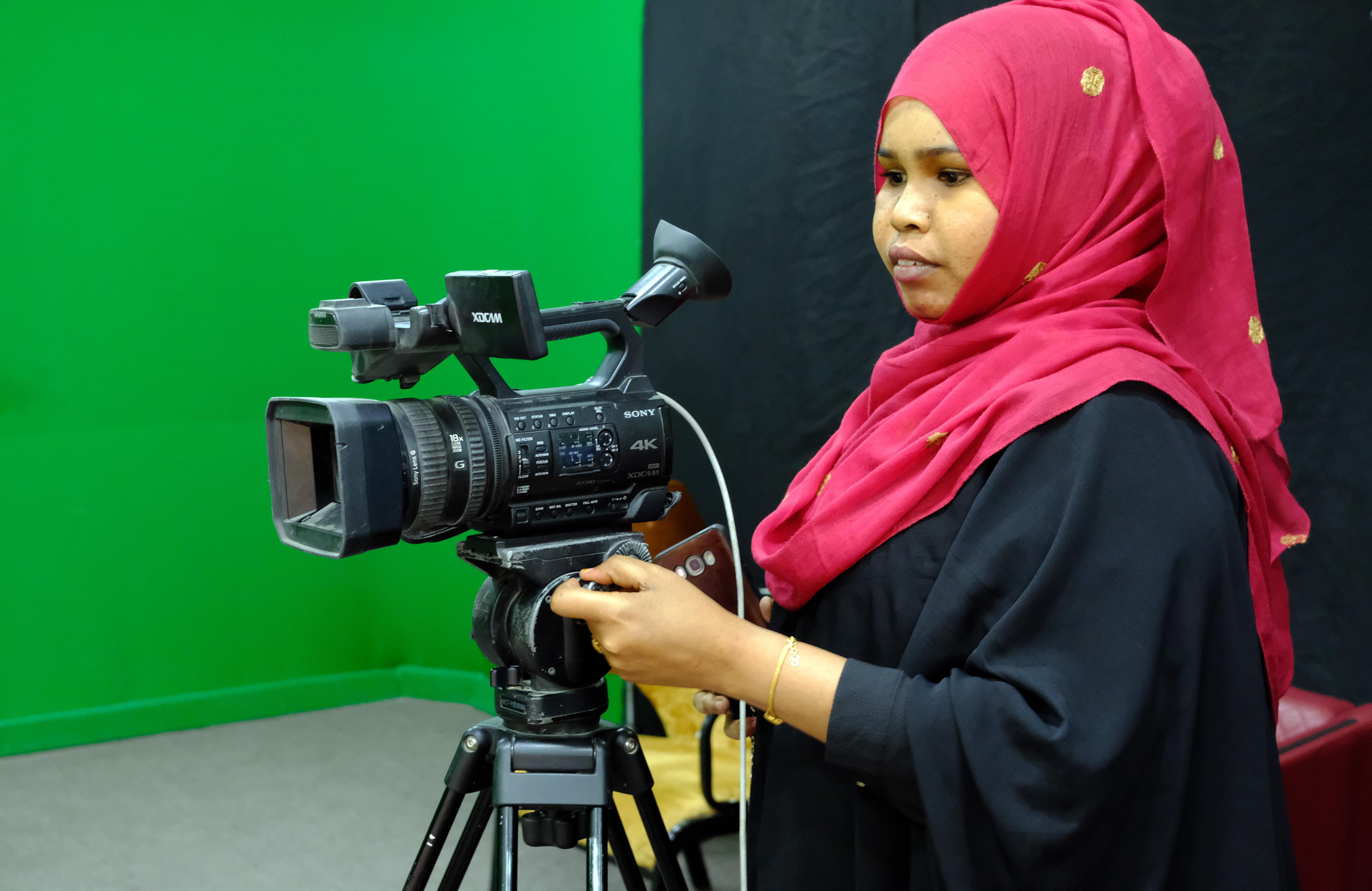Videokuvaaja Somaliassa