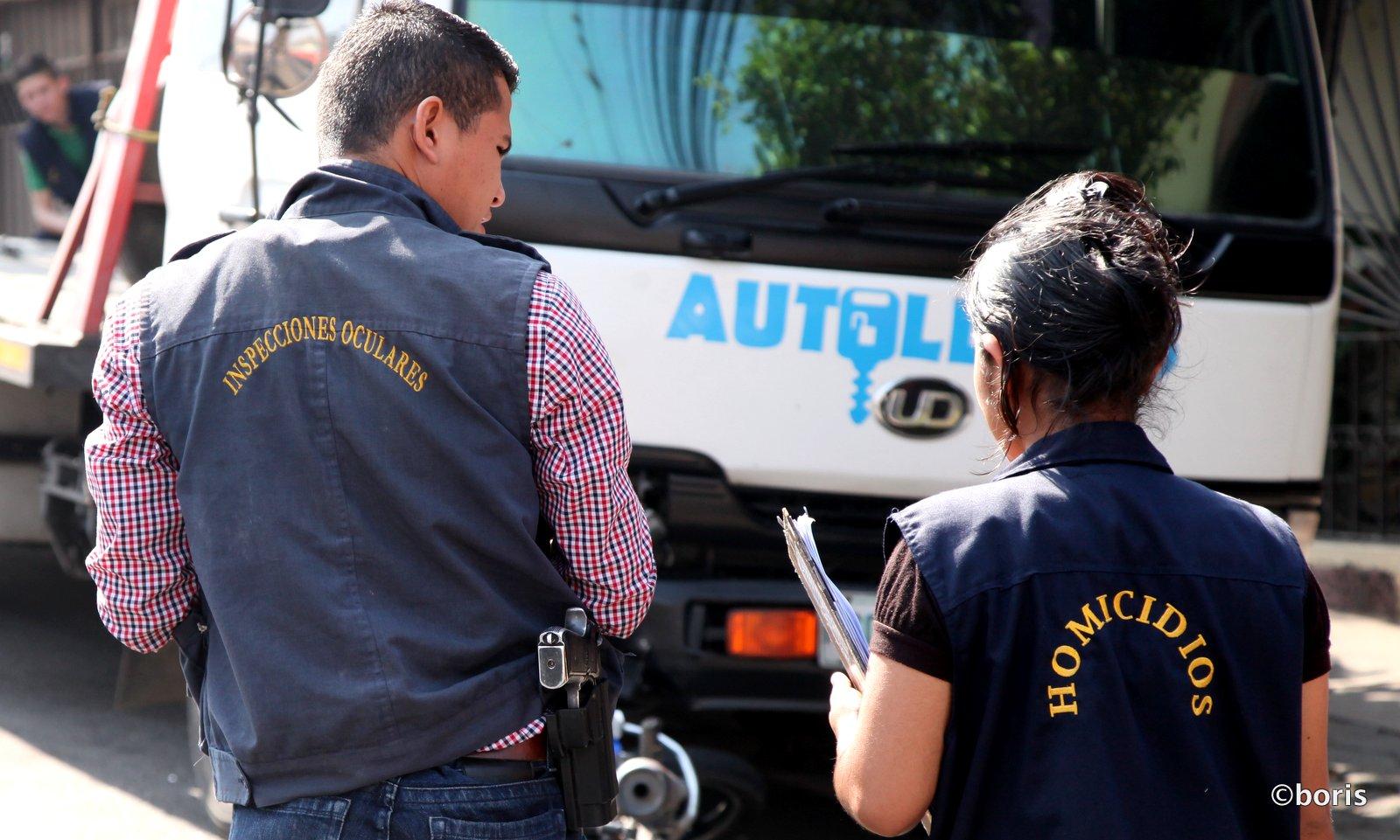 Murhapoliiseja Hondurasissa