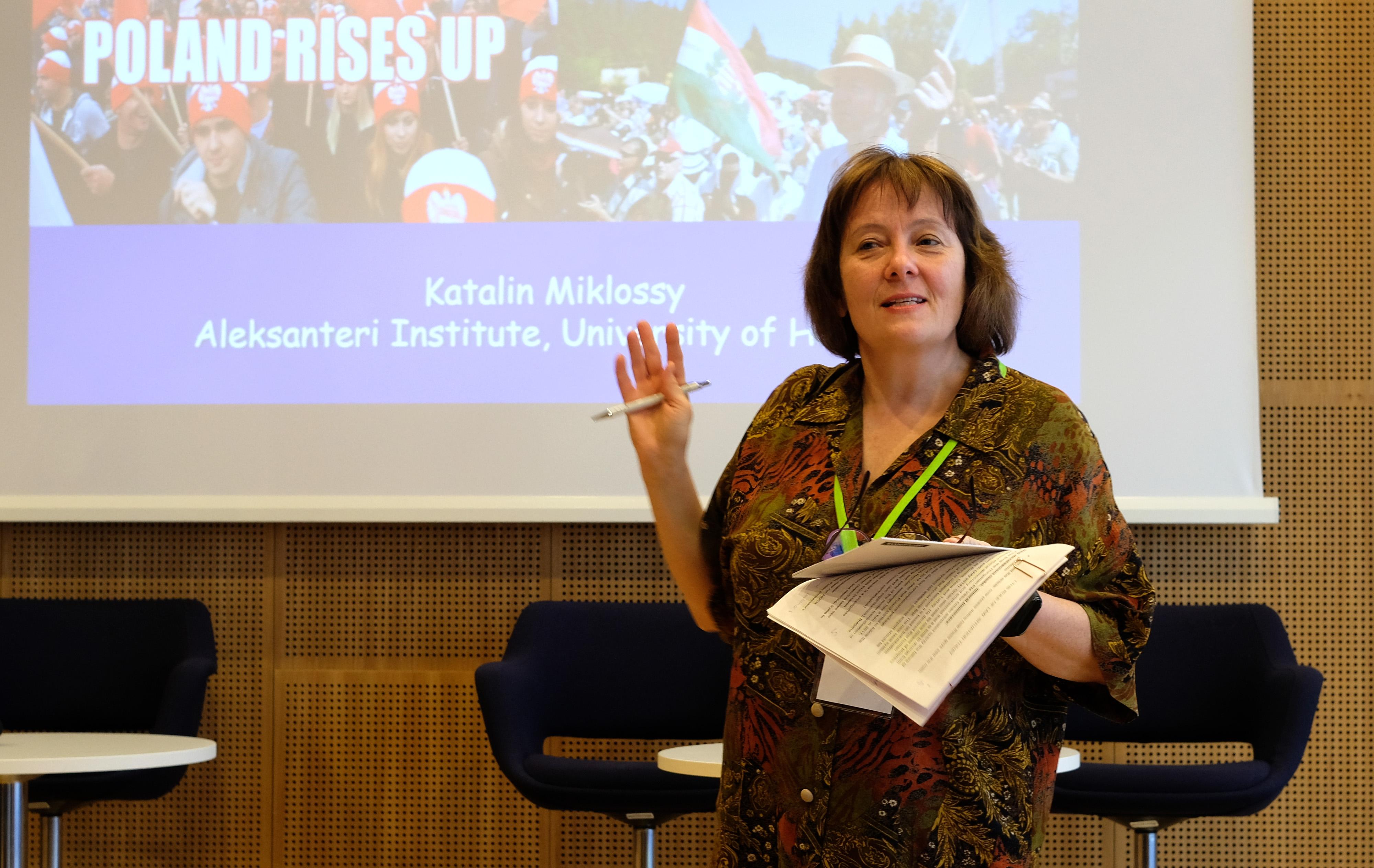 Katalin Miklossy Helsingin yliopistolta