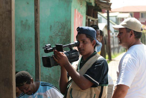 Kuvaaja Nicaraguassa