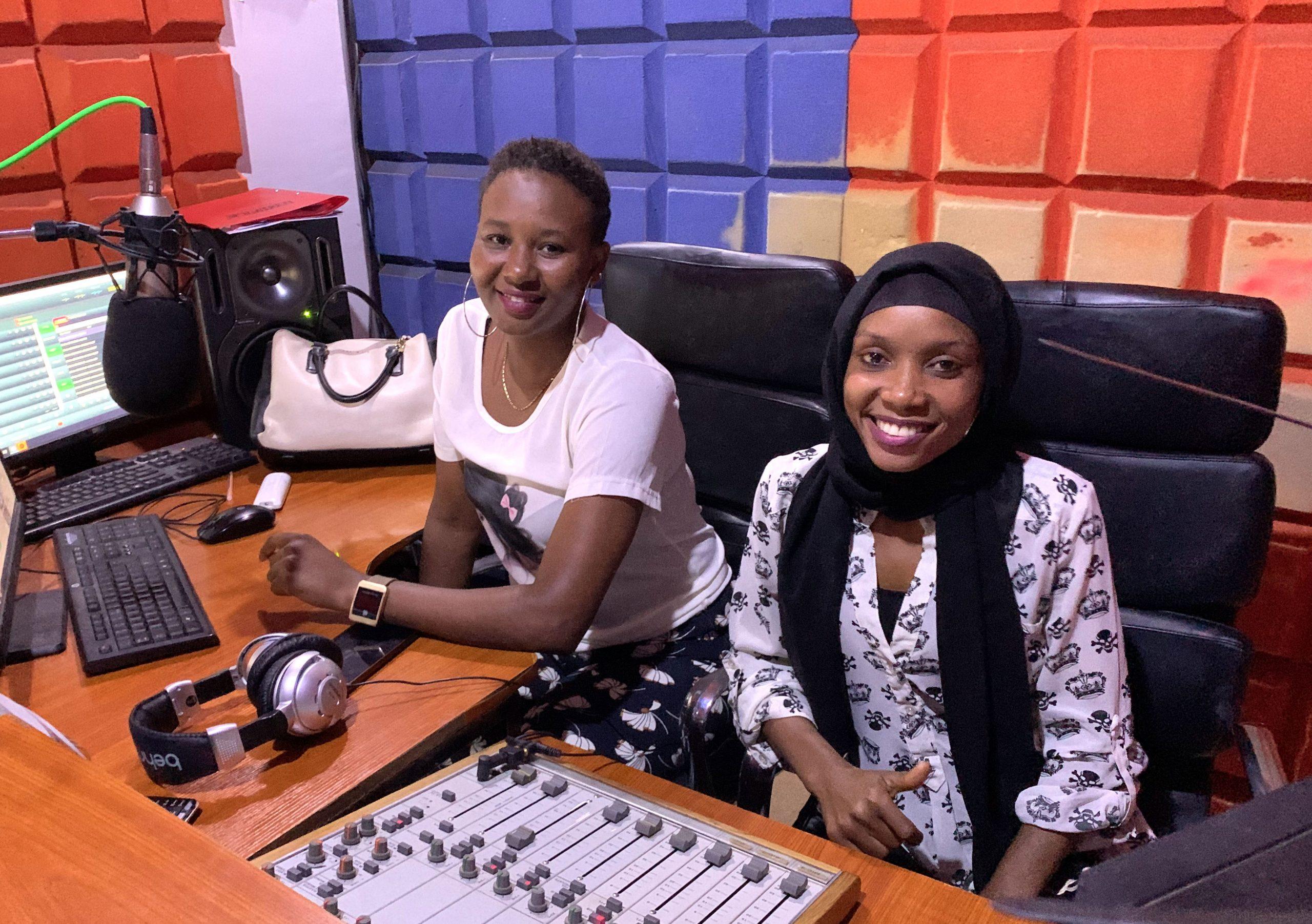 Sunrise Radion naiset eetterissä