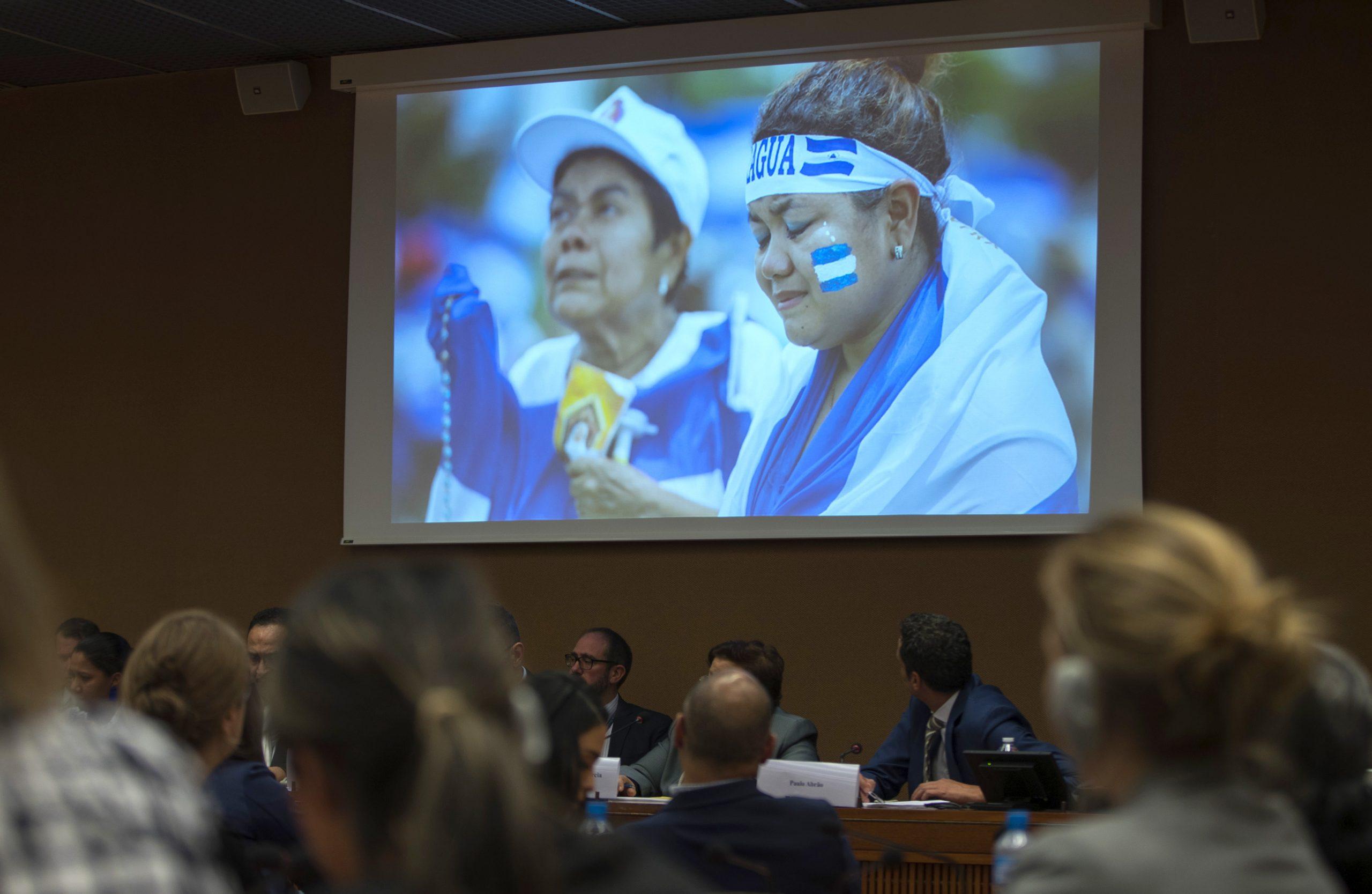 Hätäkokous Nicaraguan tilanteesta