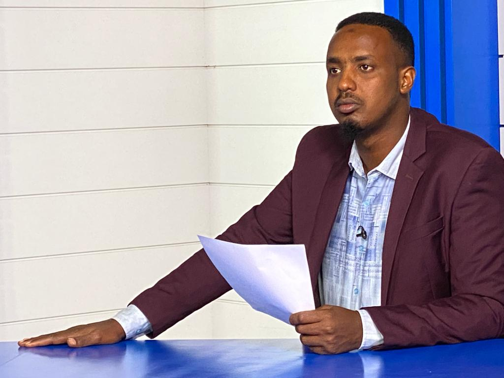 Ohjelmpäällikkö Abdinasir Dahir Sabriye