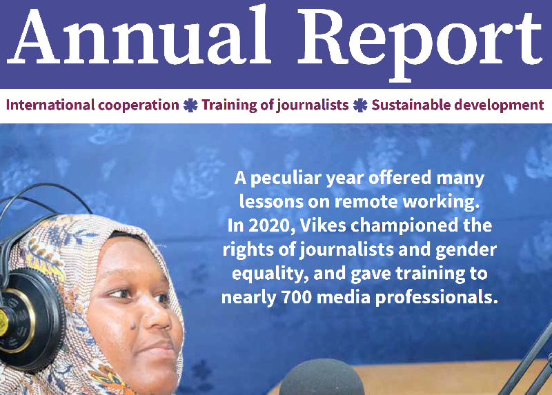 Screenshot of the cover of Annual Report