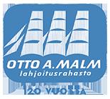 Otto A. Malmin lahjoitusrahaston logo