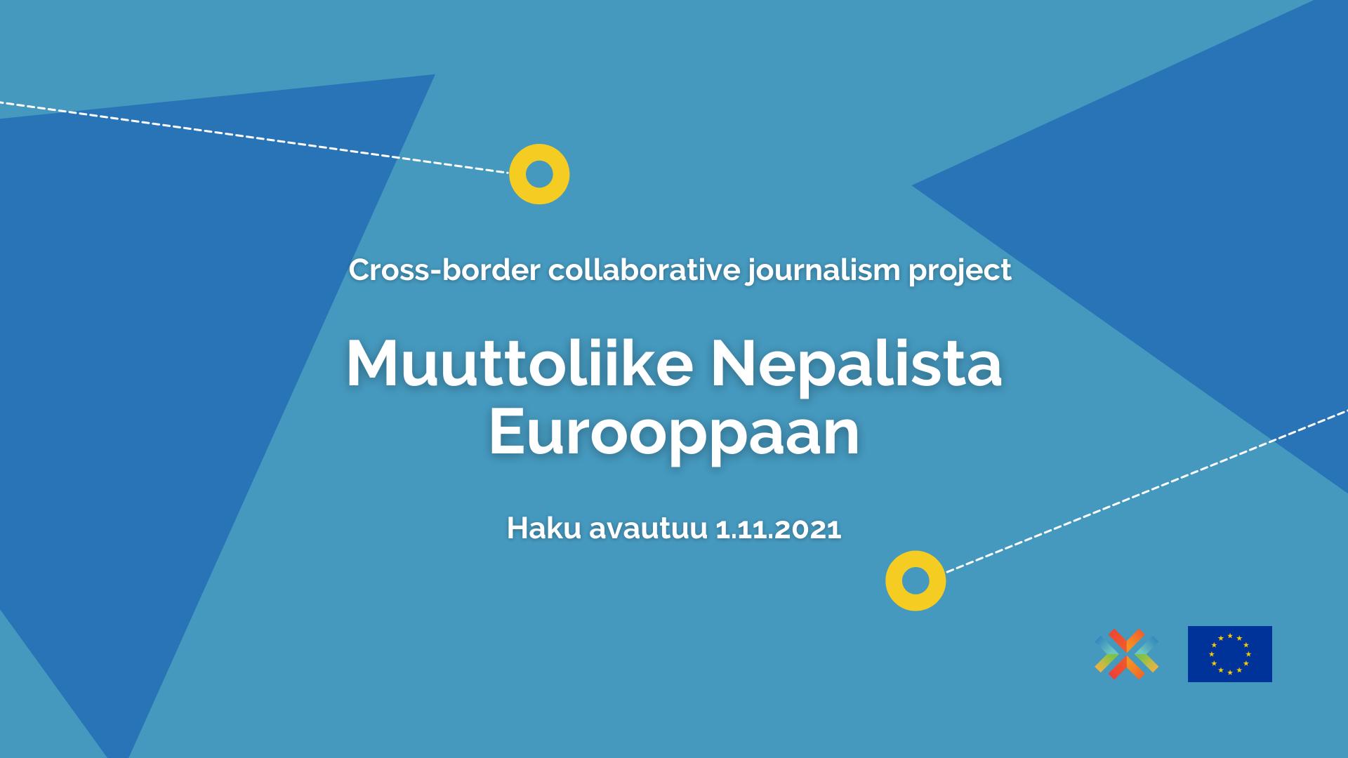 Mainoskuva: Muuttoliike Nepalista Eurooppaan
